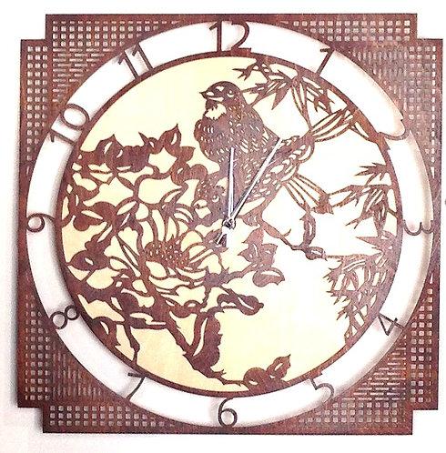"""Часы """"Птицы"""" 50см"""