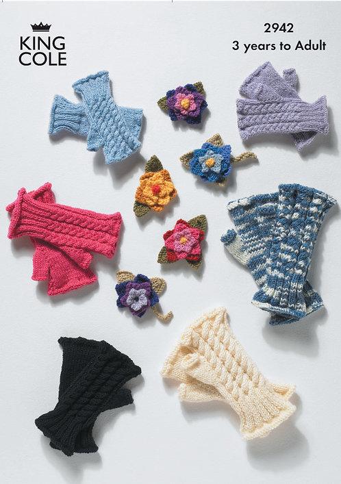 DK Fingerless Gloves