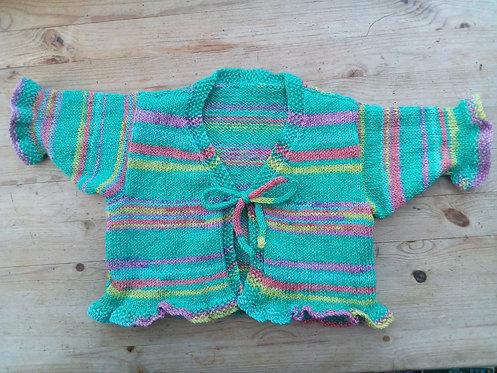 Sock Yarn Cardigan Pattern
