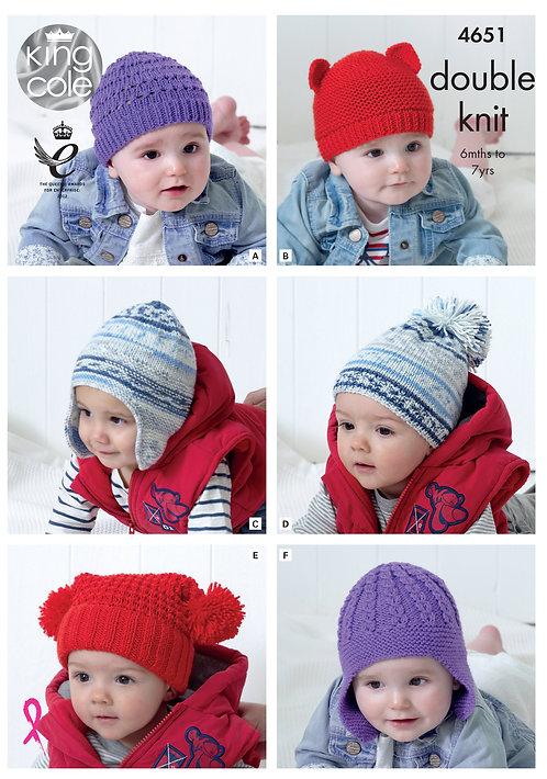 Dk baby hats 4651