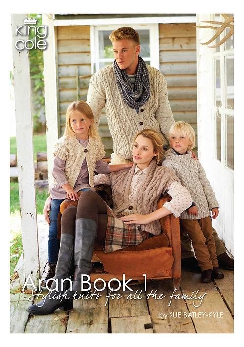 King Cole family aran book