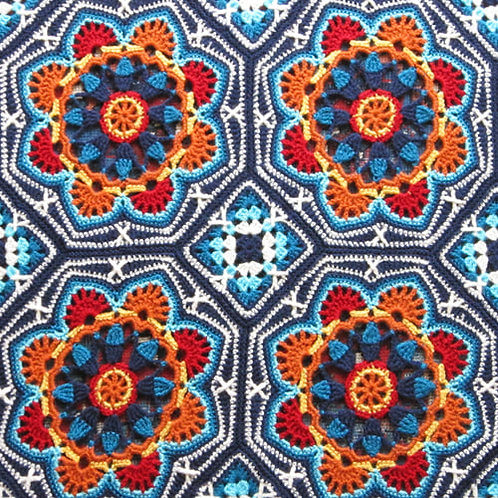 Janie Crow Persian Tiles Pattern
