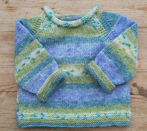 Roll Neck Child's Sweater Kit