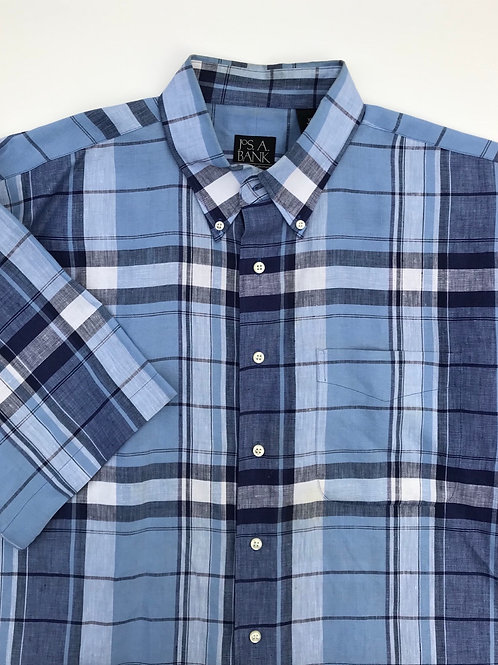Jos A. Bank Linen Short Sleeve (XL)