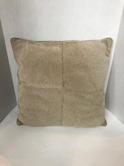 Soft Textured Beige Pillow