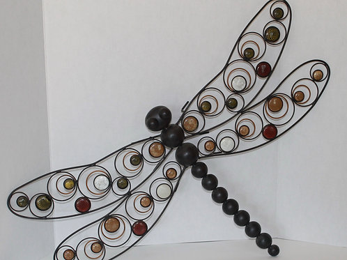 Large Dragonfly Wall Hanging