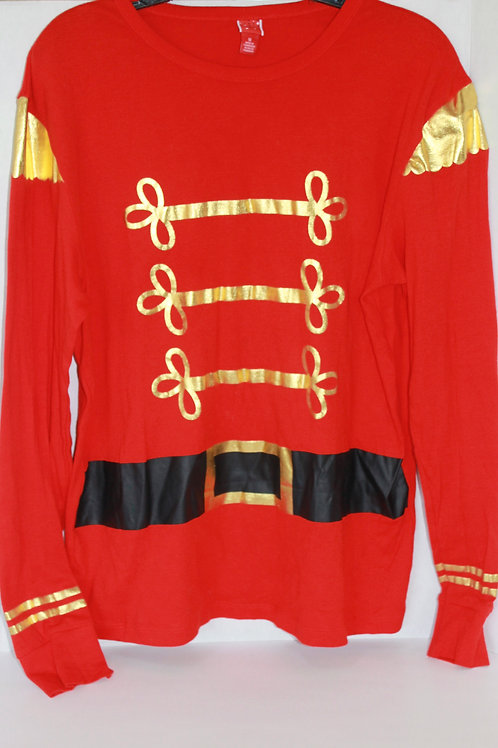 Women's Santa Long-sleeved T-shirt