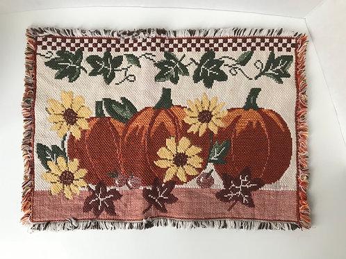 Fall Pumpkin Placemats