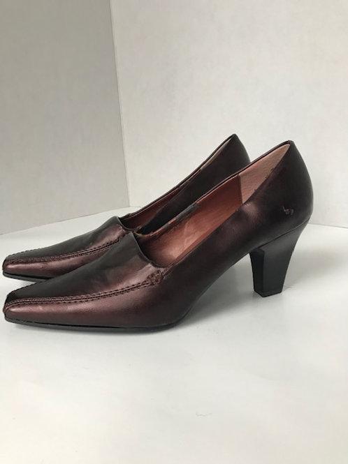 Aerosoles Copper Leather Heel