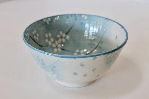 Oriental Ceramic Blue Decorative Bowl