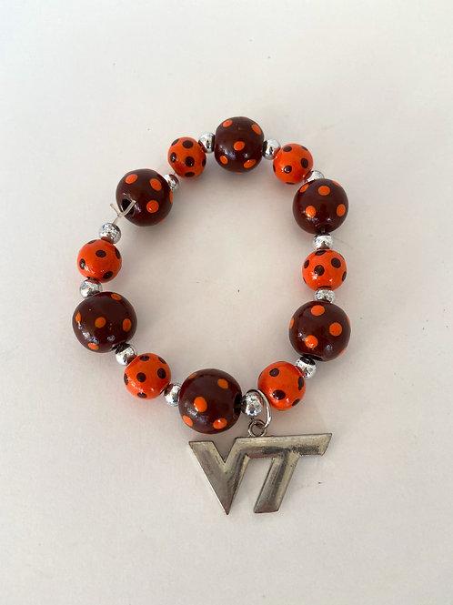 Virginia Tech Fan Bracelet