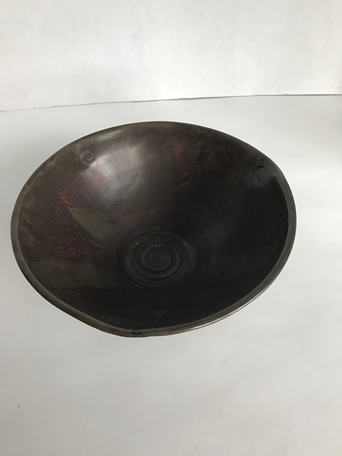 Hand-Made Pottery Bowl