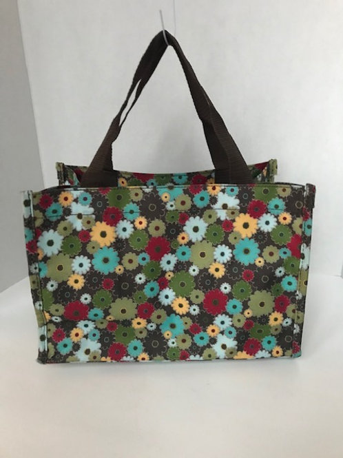 Thirty-One Small Flowered Tote