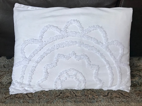 Tufted Medallion Pillow
