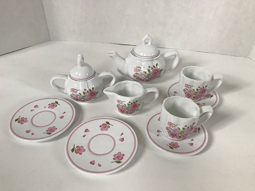 Girl's Ceramic Tea Set