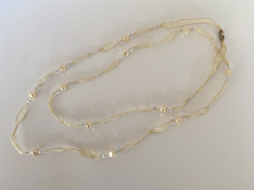 Long Ribbon Necklace