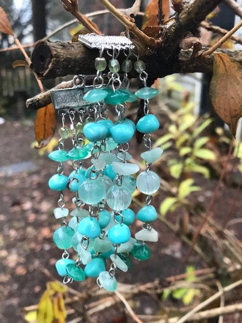 Turquoise & Ice Stone Bracelet