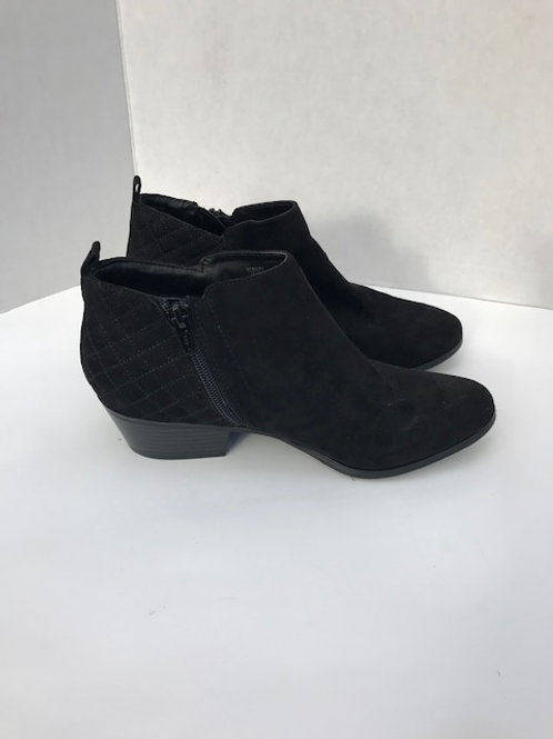 Style & Co. Black Suede Ankle Boot