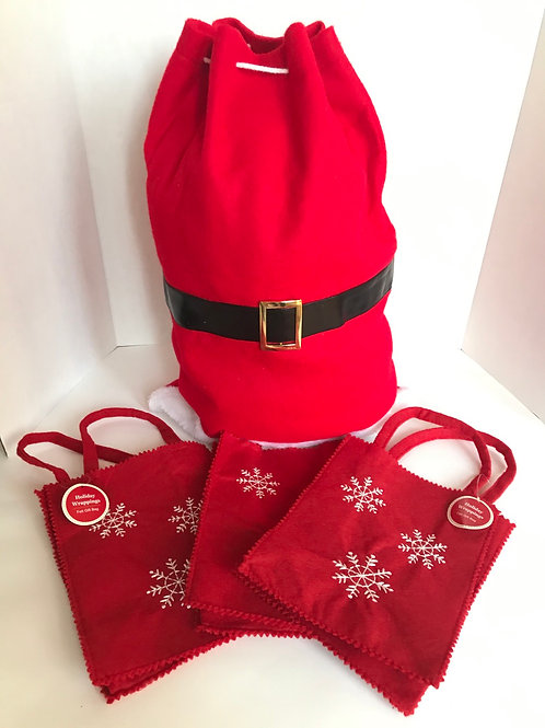 Felt Holiday Gift Bags (4)