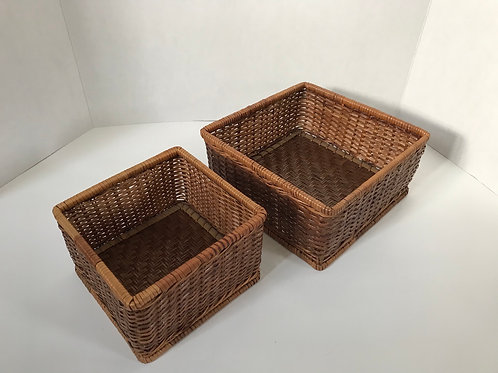 Square Nesting Baskets