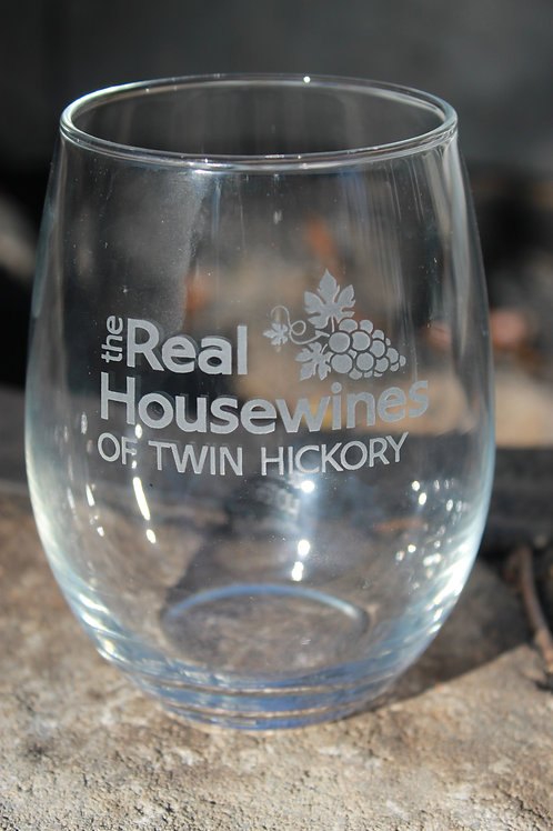 Twin Hickory Novelty Stemless Wine Glass