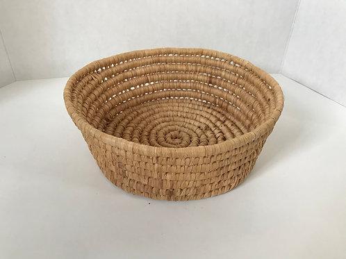 Loose Weave Spiral Basket