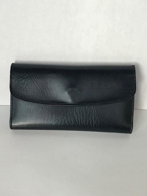 Coach Black Leather Ladies Wallet