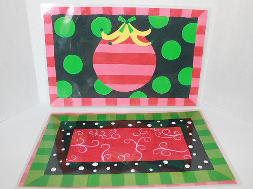 Holiday Place Mat (2 each)