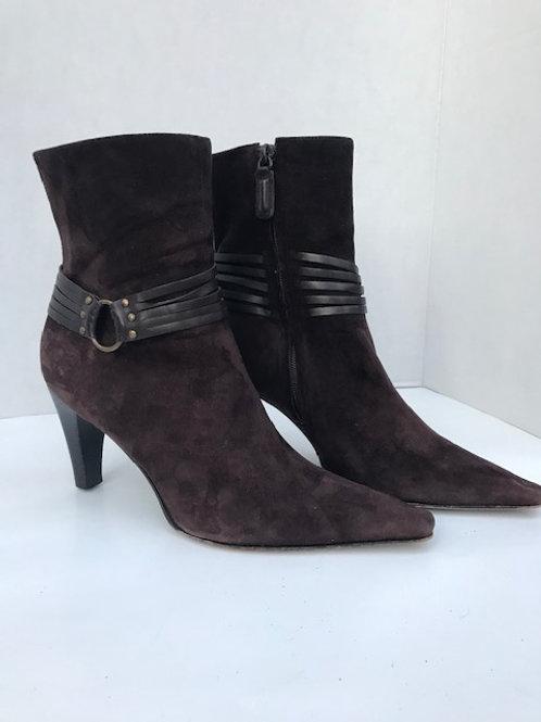 Antonio Melani Brown Suede Boot