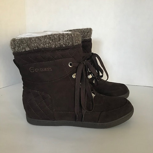 Guess Brown Suede Boots