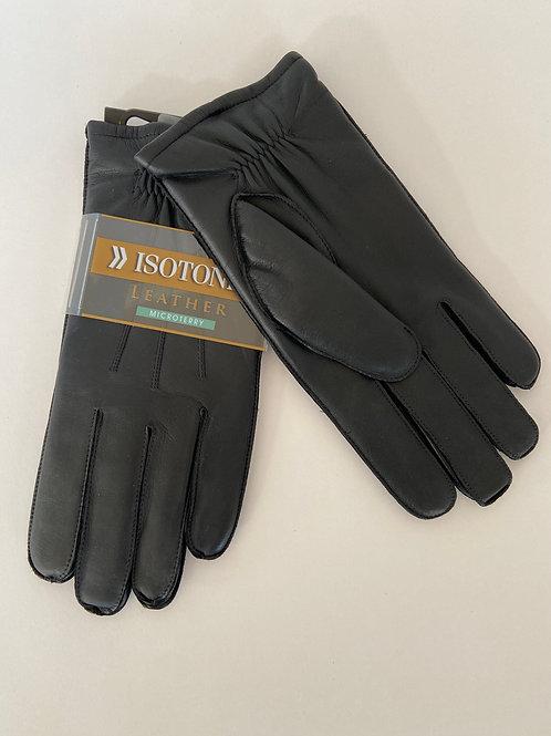 Isotoner Leather Gloves
