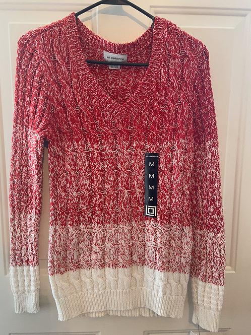 Liz Claiborne Ribbed Sweater
