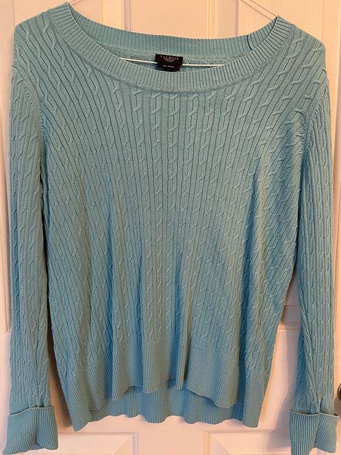 Talbots Pima Cotton Ribbed Sweater