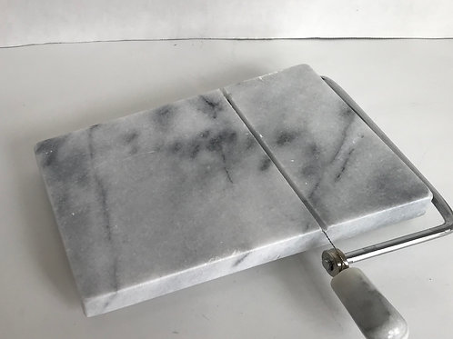 Marble Cheese Board with Wire Slicer