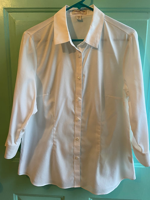 Coldwater Creek White Button Down