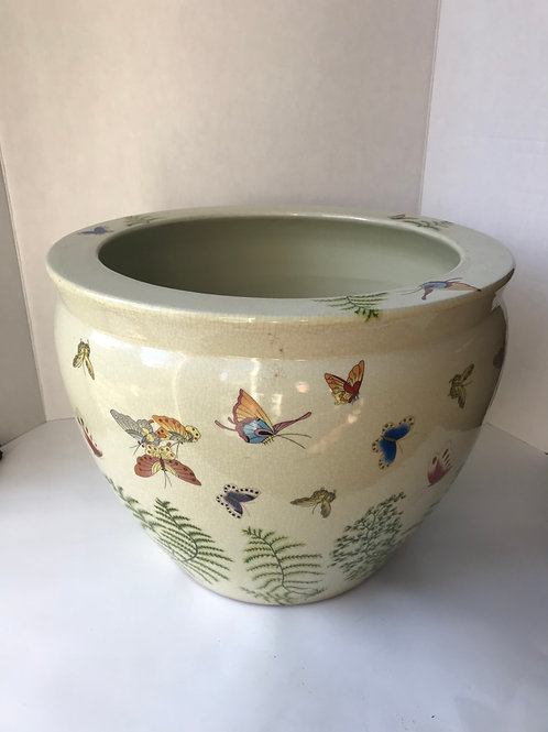 Large ceramic Butterfly Planter