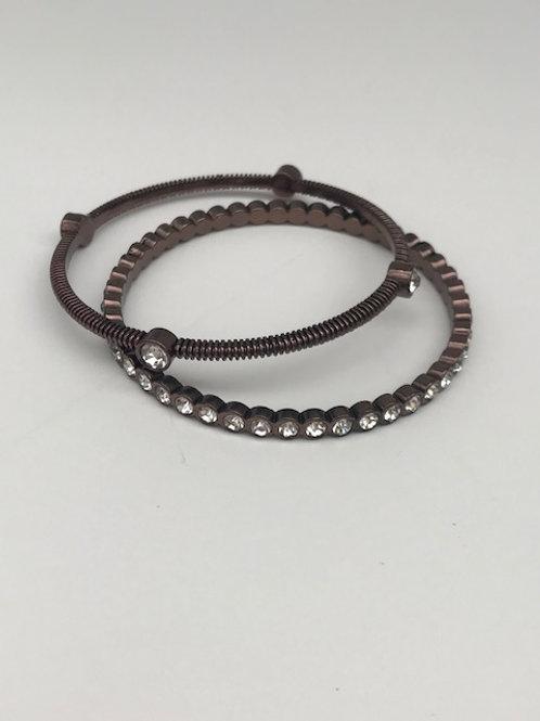 Oil Rubbed Bronze & Ice Bracelets