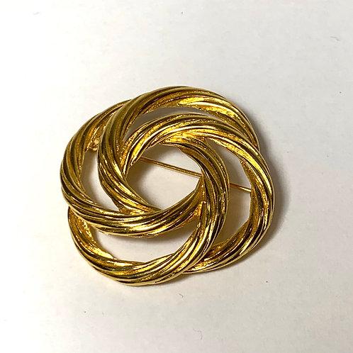 Golden Spiral Pin