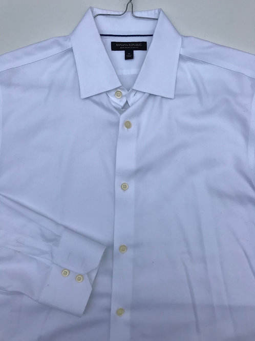 Banana Republic Crisp White Button Down (M)