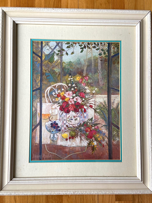 Large Spring Table Print