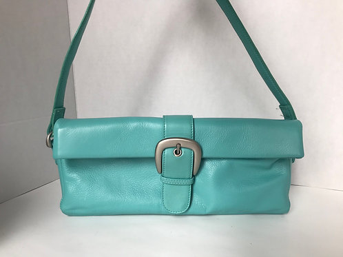 Turquoise Collapsable Purse