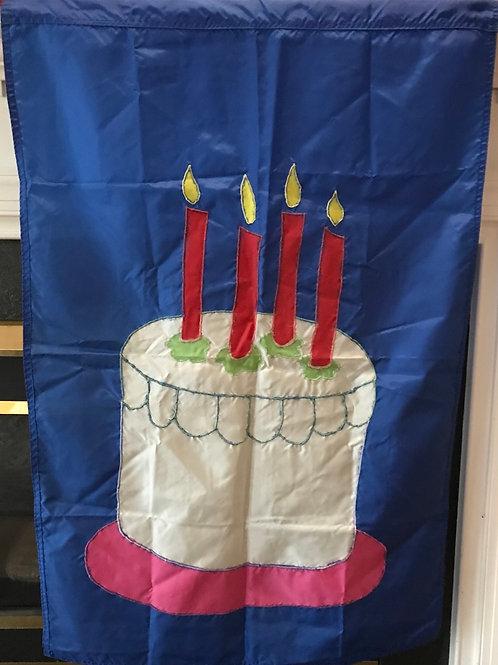 Birthday Cake Flag