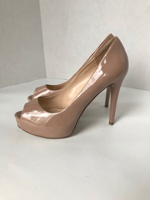 Guess Beige Leather Heel