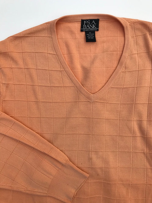 Jos A. Bank Orange Sweater