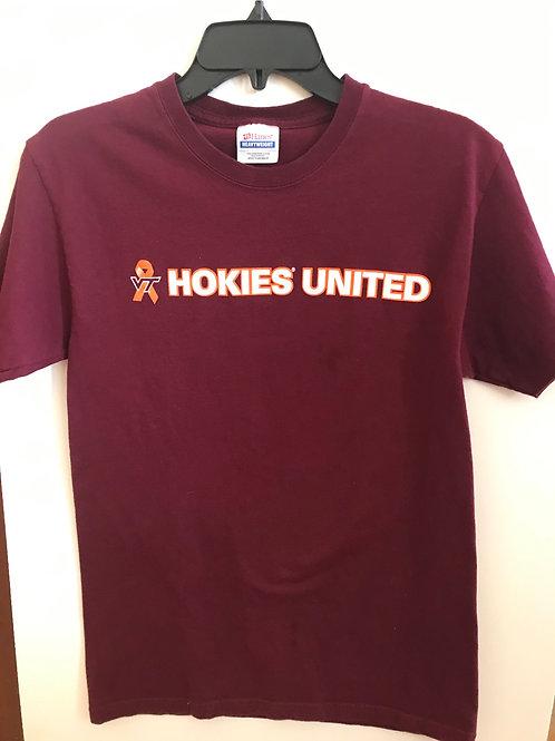 Hokies United Burgandy Tee