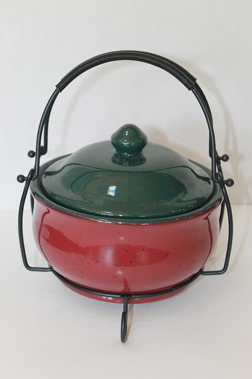 Ceramic Casserole Dish with Handle