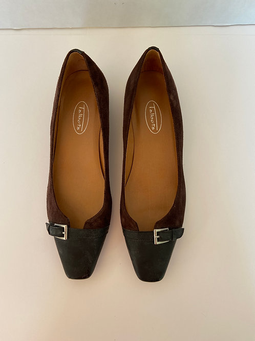 Talbots Brown Suede Flats