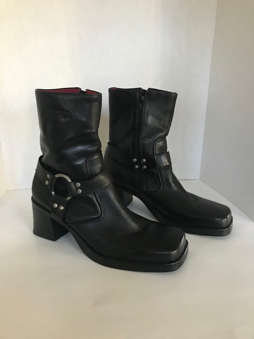 Black Durango Square Toe Boot
