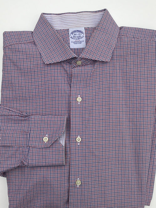 Brook's Brothers Red & Blue Plaid Button Down (16.5/33)