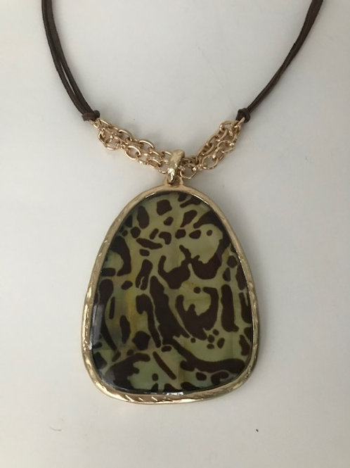 Leopard Charm Necklace